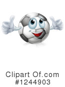 Royalty-Free (RF) Soccer Clipart Illustration #1244903