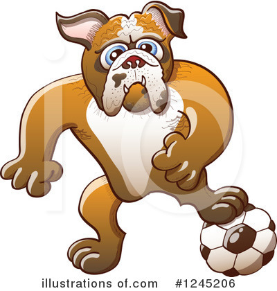 Football Clipart #1245206 by Zooco