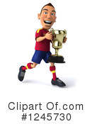 Soccer Clipart #1245730 by Julos