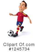 Soccer Clipart #1245734 by Julos