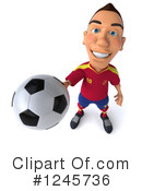 Soccer Clipart #1245736 by Julos