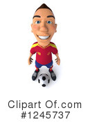 Soccer Clipart #1245737 by Julos