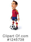 Soccer Clipart #1245738 by Julos