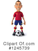 Soccer Clipart #1245739 by Julos