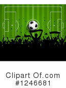 Soccer Clipart #1246681 by KJ Pargeter