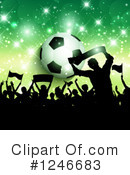 Soccer Clipart #1246683 by KJ Pargeter