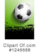 Soccer Clipart #1246688 by KJ Pargeter