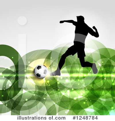Soccer Clipart #1248784 by KJ Pargeter