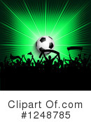 Soccer Clipart #1248785 by KJ Pargeter