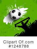 Soccer Clipart #1248788 by KJ Pargeter