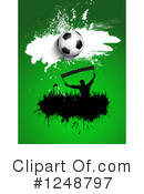 Soccer Clipart #1248797 by KJ Pargeter