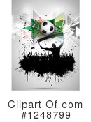 Soccer Clipart #1248799 by KJ Pargeter