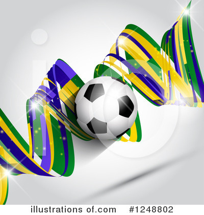 Soccer Clipart #1248802 by KJ Pargeter