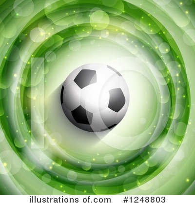 Soccer Clipart #1248803 by KJ Pargeter
