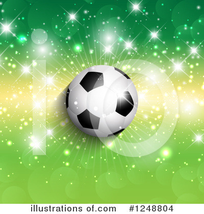 Soccer Clipart #1248804 by KJ Pargeter