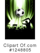 Soccer Clipart #1248805 by KJ Pargeter