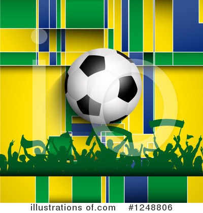 Soccer Clipart #1248806 by KJ Pargeter