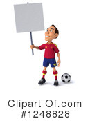 Soccer Clipart #1248828 by Julos