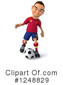 Soccer Clipart #1248829 by Julos