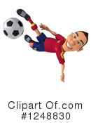 Soccer Clipart #1248830 by Julos