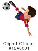 Soccer Clipart #1248831 by Julos