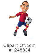 Soccer Clipart #1248834 by Julos