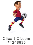 Soccer Clipart #1248835 by Julos