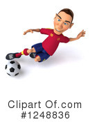 Soccer Clipart #1248836 by Julos