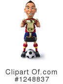 Soccer Clipart #1248837 by Julos