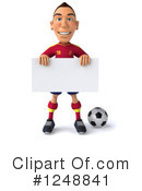 Soccer Clipart #1248841 by Julos