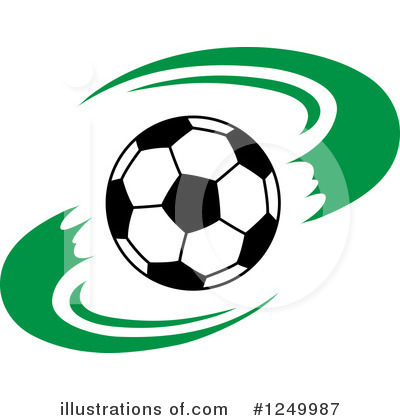 Soccer Clipart #1249987 by Vector Tradition SM