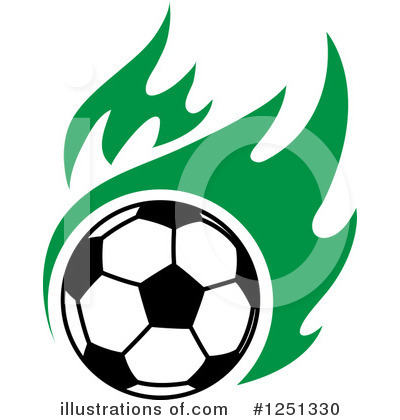 Football Clipart #1251330 by Vector Tradition SM
