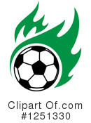 Royalty-Free (RF) Soccer Clipart Illustration #1251330