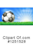 Royalty-Free (RF) Soccer Clipart Illustration #1251528