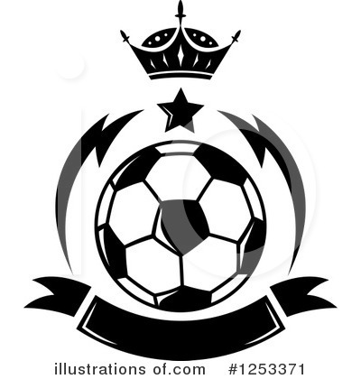 Royalty-Free (RF) Soccer Clipart Illustration by Vector Tradition SM - Stock Sample #1253371