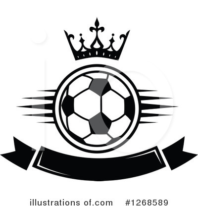 Football Clipart #1268589 by Vector Tradition SM