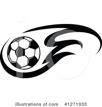 Soccer Clipart #1271033 by Vector Tradition SM