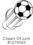 Royalty-Free (RF) Soccer Clipart Illustration #1274020