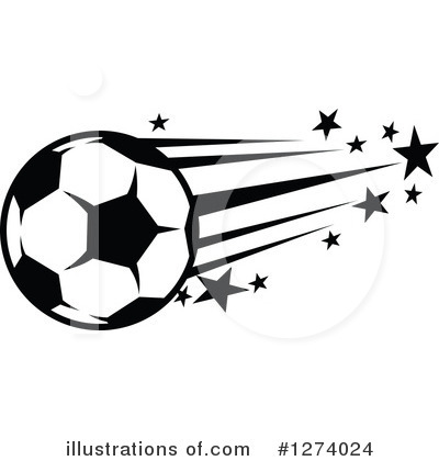Soccer Clipart #1274024 by Vector Tradition SM