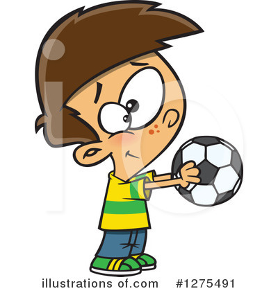 Soccer Clipart #1275491 by toonaday