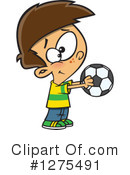 Royalty-Free (RF) Soccer Clipart Illustration #1275491