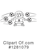 Royalty-Free (RF) Soccer Clipart Illustration #1281079