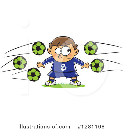 Soccer Clipart #1281108 by toonaday