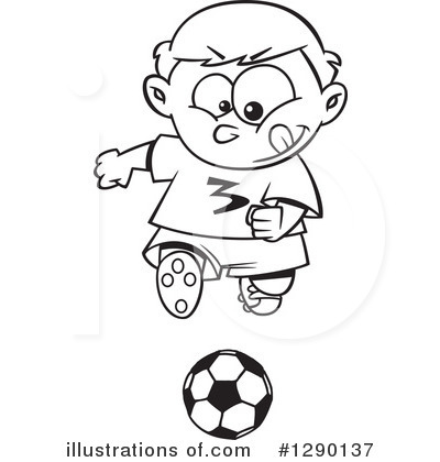 Soccer Clipart #1290137 by toonaday