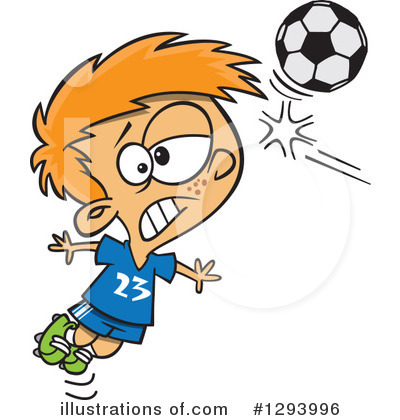 Soccer Clipart #1293996 by toonaday