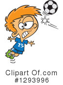 Royalty-Free (RF) Soccer Clipart Illustration #1293996