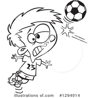 Soccer Clipart #1294014 by toonaday