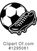 Royalty-Free (RF) Soccer Clipart Illustration #1295061
