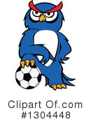 Royalty-Free (RF) Soccer Clipart Illustration #1304448