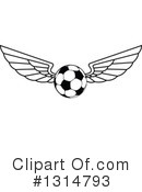 Soccer Clipart #1314793 by Vector Tradition SM